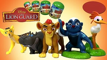 Disney Junior The Lion Guard kapsel