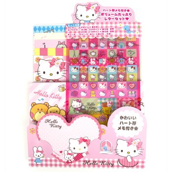 Hello Kitty Brevpapper Set