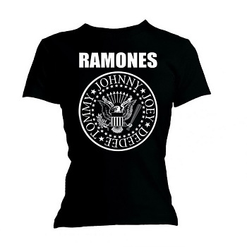 Ramones Ladies Fashion T-Shirt Forest Hills Burn Out