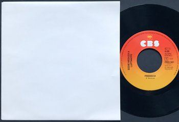 """EDDIE MEDUZA - Fisdisco / California sun Promo 7"""" 1984"""