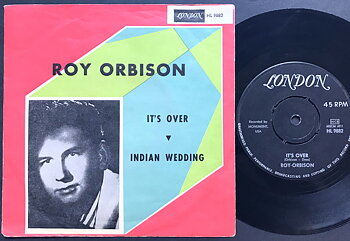 ROY ORBISON -  It´s over Swe PS 1963