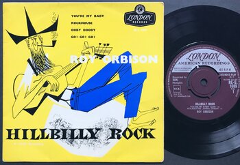 ROY ORBISON - Hillbilly rock UK EP 1963