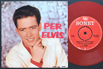PER ELVIS & HIS ROCKERS - Hey hey good lookin´+3 Sweden EP 1959