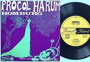 PROCOL HARUM - Homburg +3 EP Australien 1968
