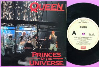 QUEEN - Princes of the universe Australia PS 1986