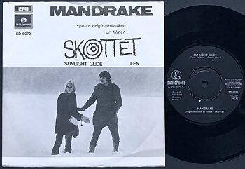 MANDRAKE - Sunlight glide / Len Swe PS 1969