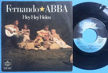 ABBA - Fernando / Hey hey Helen NORWAY PS 1976