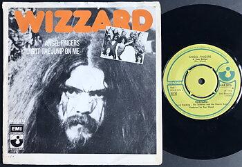 WIZZARD - Angel fingers Swe PS 1973