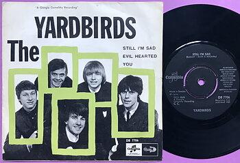 YARDBIRDS - Still I´m sad Swe PS 1965
