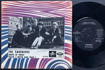YARDBIRDS - Shapes of things Swe PS 1966
