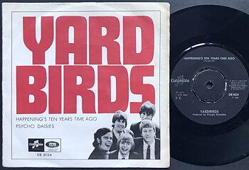 YARDBIRDS - Happening's ten years time ago Swe PS 1966