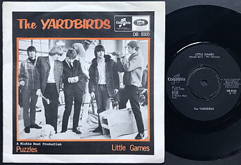 YARDBIRDS - Puzzles / Little games Swe PS 1967