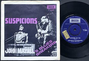 JOHN MAYALL´S BLUESBREAKERS - Suspicions Swe PS 1967
