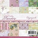 Precious Marieke -  Paper pad - Pretty flowers