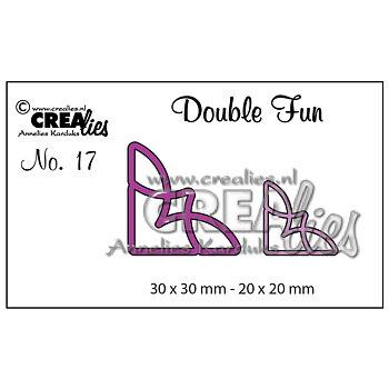Crealies - dies -  double fun - hörn 1