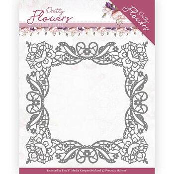 Precious Marieke - Pretty Flowers - Lace frame