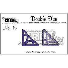 Crealies - dies -  double fun - hörn 2