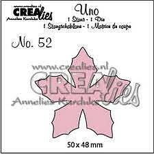 Crealies - dies -  uno - julstjärna