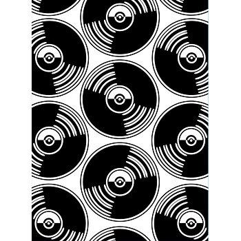 Darice - Embossing folder -records