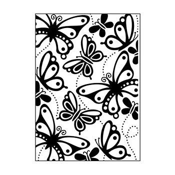 Darice - Embossing folder butterflies