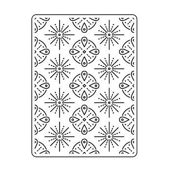 Darice - Embossing folder -Tribal