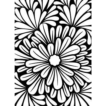 Darice - Embossing folder -bold floral