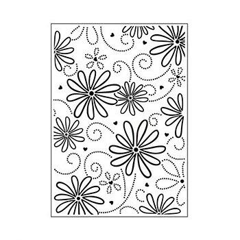 Darice - Embossing folder -petal