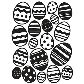 Darice - Embossing folder -easter egg