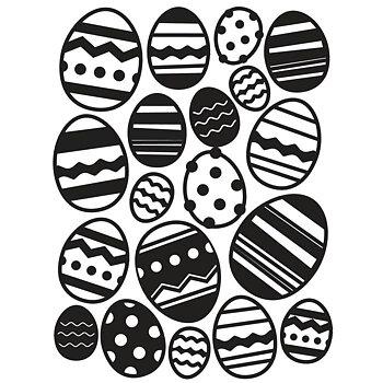 Darice - Embossing folder -easter egg