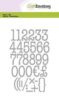 CE -alfabete - siffror - typewriter