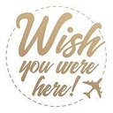 couture creations - mini stamp  - wish you were here