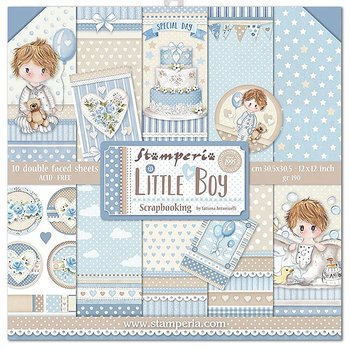 Stamperia - little boy  -12x12""