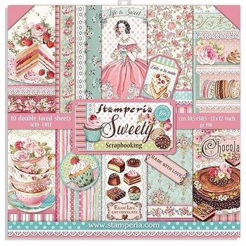 Stamperia - sweety  -12x12""