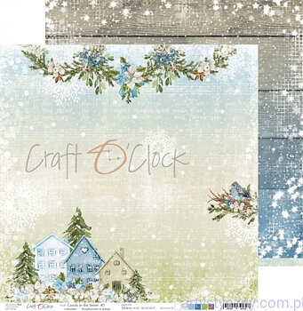 Craft a Clock  -carols in the snow 03