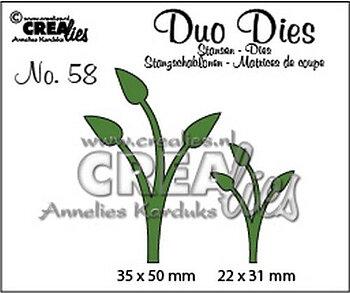Crealies - duo dies- Leaves