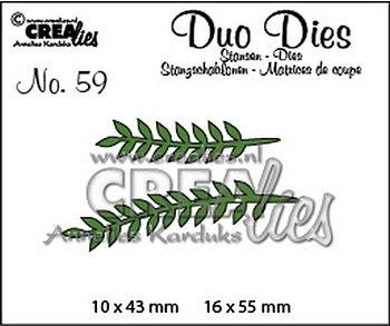 Crealies - duo dies- blad