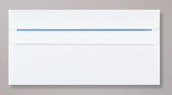 Kuvert -vit - slim 10 pack
