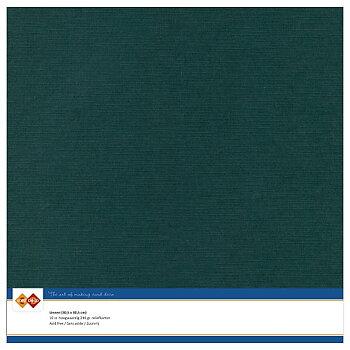 Cardstock - Linnen -Jade-10 pack (card deco)