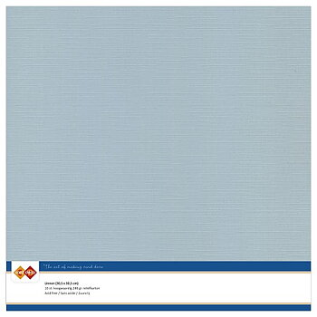 Cardstock - Linnen -grey 10 pack (card deco)