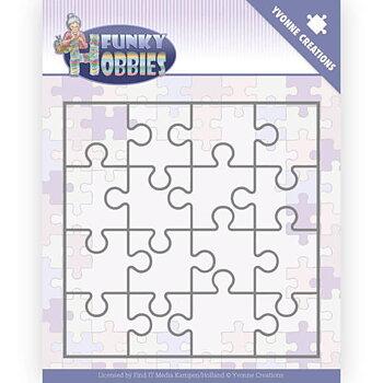 Dies - Yvonne Creations - Funky Hobbies - Puzzle