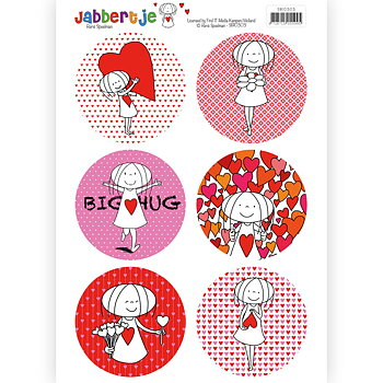 Jabbertje - push out  -sb10303