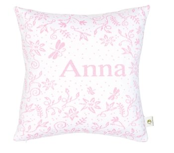 "Pillow"" Romantikk"" with name"