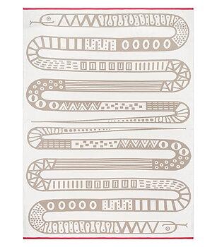 Babyplaid 100 cm  x 135 cm. Snake