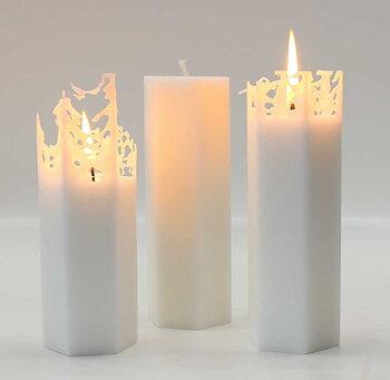 Vio Ljusfabrik Spindelvävsljus 15 cm