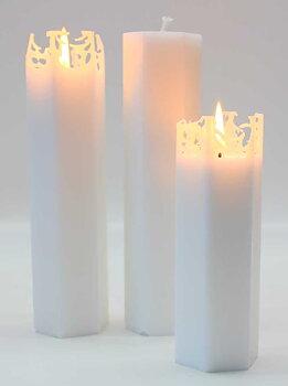 Vio Ljusfabrik Spindelvävsljus 20 cm