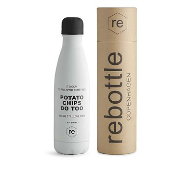Rebottle Cph Potatochip  statement white