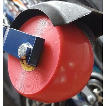 Elpex 40 mm Framhjul PU komplett (2 ) normal