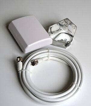Komplett GSM/3G/4G lösning till router -  Panelantenn