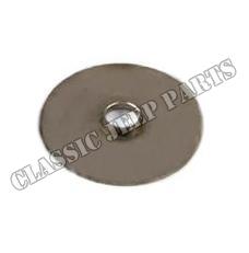 Heat control bi-metall spring washer