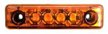 Positionsljus Led 4 SMT Orange
